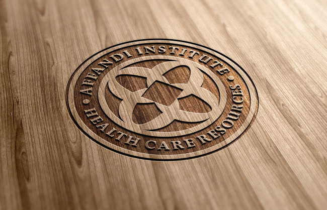Lasercut Wood logo Affandi