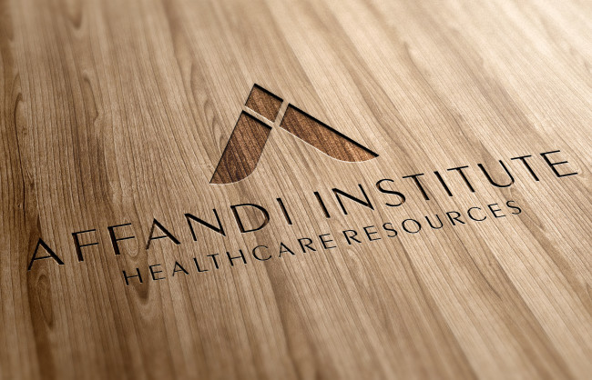 Lasercut Wood logo Affandi Institute